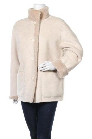 Дамско палто Delmod, Размер XL, Цвят Бежов, Цена 36,17лв.