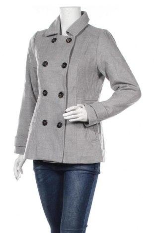Дамско палто Dotti, Размер M, Цвят Сив, 88% вискоза, 10% полиестер, 2% еластан, Цена 27,41лв.