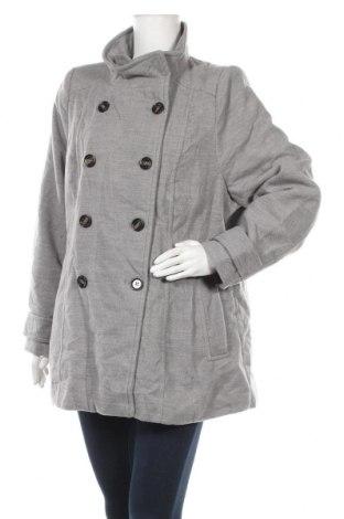 Дамско палто Ed.it.ed, Размер XL, Цвят Сив, Полиестер, вискоза, еластан, Цена 13,65лв.