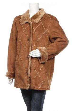 Дамско палто Fabiani, Размер L, Цвят Кафяв, 0% полиакрил, 40% полиестер, Цена 17,06лв.