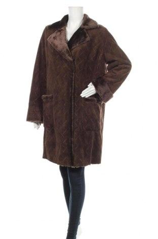 Дамско палто Gerry Weber, Размер L, Цвят Кафяв, 60% полиестер, 40% полиакрил, Цена 91,77лв.