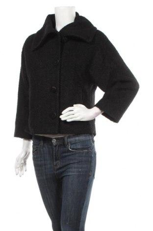 Γυναικείο παλτό Gorman, Μέγεθος S, Χρώμα Μαύρο, 50% μαλλί, 50% πολυεστέρας, Τιμή 52,83€