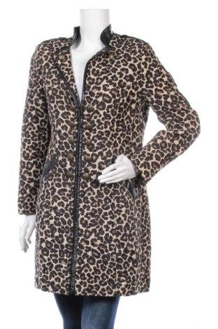 Дамско палто H&M, Размер L, Цвят Многоцветен, Полиестер, Цена 40,32лв.