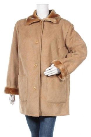 Дамско палто K&l Ruppert, Размер XL, Цвят Кафяв, 63% акрил, 37% полиестер, Цена 14,18лв.