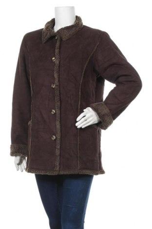 Дамско палто L.L. Bean, Размер M, Цвят Кафяв, Полиестер, Цена 11,29лв.