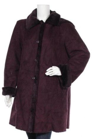Дамско палто Malva, Размер L, Цвят Лилав, Полиестер, Цена 18,11лв.