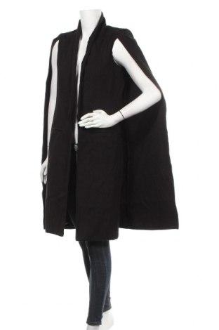 Дамско палто Missguided, Размер S, Цвят Черен, 90% полиестер, 10% вискоза, Цена 43,31лв.