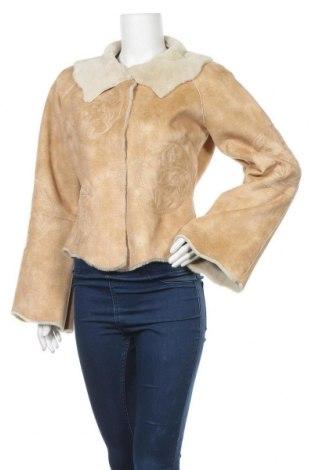 Γυναικείο παλτό Noa Noa, Μέγεθος M, Χρώμα  Μπέζ, 60%ακρυλικό, 40% πολυεστέρας, Τιμή 53,26€