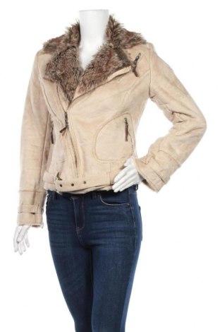 Дамско палто Orsay, Размер S, Цвят Бежов, 80% акрил, 20% полиестер, Цена 26,57лв.