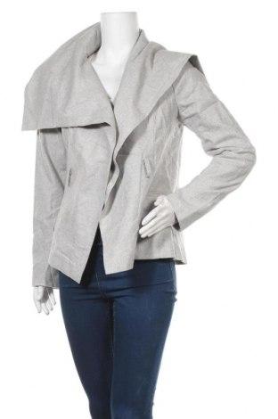 Дамско палто Oskar, Размер L, Цвят Сив, 50% вълна, 50% полиестер, Цена 78,80лв.