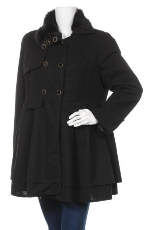 Дамско палто Owind, Размер L, Цвят Черен, Цена 13,65лв.