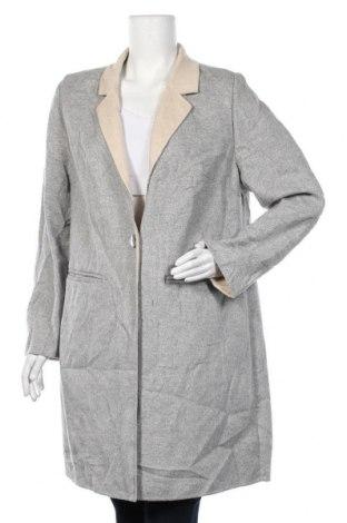 Дамско палто S.Oliver, Размер XL, Цвят Сив, 5% вълна, 40% полиестер, 15% вискоза, Цена 81,90лв.