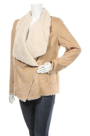 Дамско палто Tally Weijl, Размер L, Цвят Бежов, Полиестер, Цена 34,40лв.