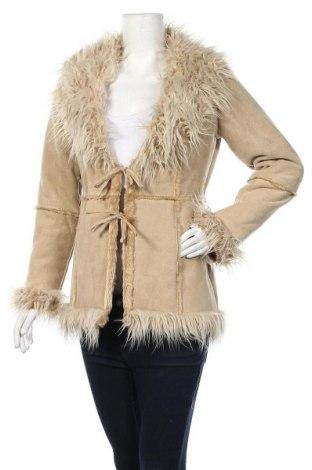 Дамско палто Tally Weijl, Размер S, Цвят Бежов, Полиестер, Цена 51,45лв.