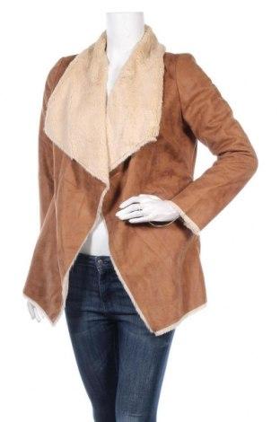 Дамско палто Tally Weijl, Размер S, Цвят Кафяв, Цена 48,30лв.