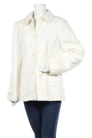 Дамско палто Target, Размер L, Цвят Бял, Полиестер, вискоза, еластан, Цена 15,50лв.