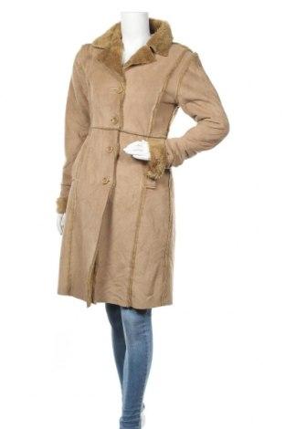 Дамско палто Terranova, Размер M, Цвят Бежов, Цена 23,15лв.