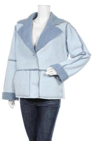 Дамско палто Together, Размер M, Цвят Син, Полиестер, Цена 26,78лв.