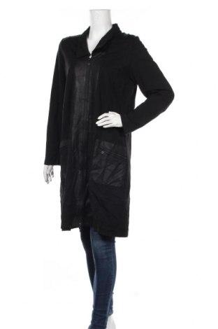 Дамско палто Ts, Размер L, Цвят Черен, 66% вискоза, 29% полиамид, 5% еластан, Цена 41,90лв.