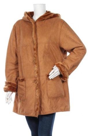 Дамско палто Valino, Размер XL, Цвят Кафяв, Цена 18,48лв.
