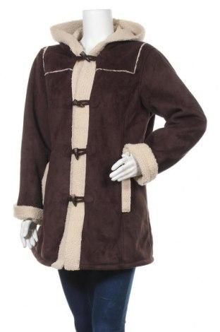 Дамско палто Vero Moda, Размер XL, Цвят Кафяв, Цена 50,87лв.