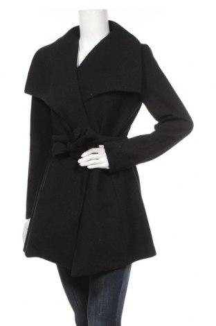 Дамско палто Vila, Размер S, Цвят Черен, Полиестер, Цена 89,25лв.