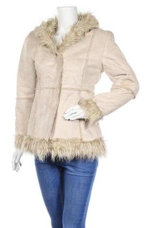 Дамско палто Xanaka, Размер S, Цвят Бежов, Полиестер, Цена 12,60лв.