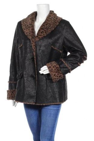 Дамско палто Yessica, Размер XL, Цвят Черен, Полиестер, Цена 34,81лв.