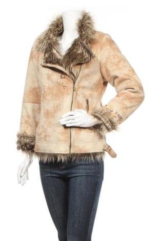 Дамско палто Yessica, Размер M, Цвят Бежов, 50% полиестер, 50% акрил, Цена 27,30лв.