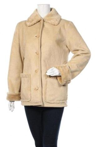 Дамско палто Your Sixth Sense, Размер M, Цвят Бежов, 60% акрил, 40% полиестер, Цена 58,91лв.