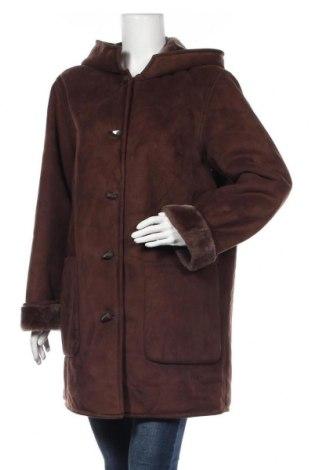 Дамско палто Your Sixth Sense, Размер M, Цвят Кафяв, 50% полиестер, 50% акрил, Цена 54,60лв.