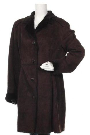 Дамско палто Your Sixth Sense, Размер L, Цвят Кафяв, 52% полиестер, 48% акрил, Цена 60,90лв.
