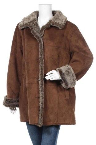 Дамско палто Your Sixth Sense, Размер XL, Цвят Кафяв, 62% акрил, 38% полиестер, Цена 49,14лв.