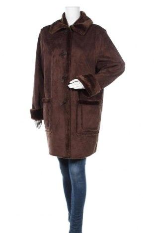 Дамско палто Your Sixth Sense, Размер L, Цвят Кафяв, 50% полиестер, 50% акрил, Цена 20,58лв.