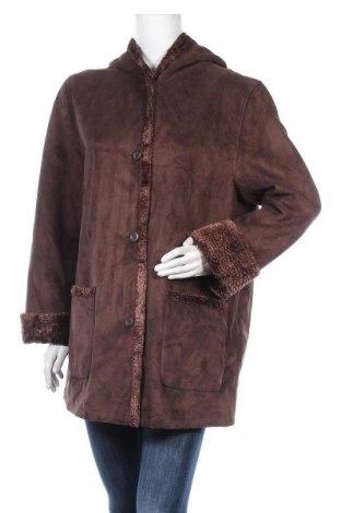 Дамско палто Your Sixth Sense, Размер L, Цвят Кафяв, Полиестер, Цена 50,87лв.