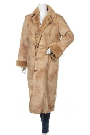 Дамско палто Your Style, Размер M, Цвят Кафяв, Полиестер, Цена 12,08лв.