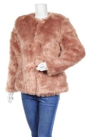 Дамско палто Zebra, Размер M, Цвят Розов, Цена 36,96лв.
