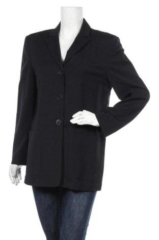 Дамско сако, Размер M, Цвят Син, 94% вълна, 4% полиамид, 2% еластан, Цена 7,35лв.