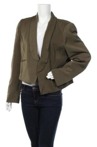 Дамско сако Basque, Размер XL, Цвят Зелен, 93% полиестер, 7% еластан, Цена 10,29лв.