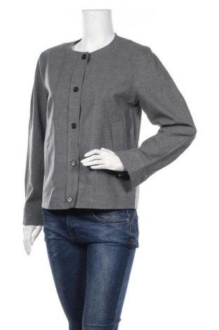 Дамско сако COS, Размер S, Цвят Сив, 96% вълна, 4% еластан, Цена 19,43лв.