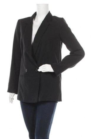 Дамско сако H&M, Размер L, Цвят Черен, 93% вискоза, 7% полиестер, Цена 18,00лв.