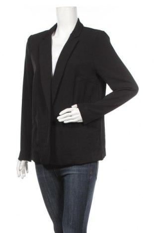 Дамско сако H&M, Размер XL, Цвят Черен, 95% полиестер, 5% еластан, Цена 27,93лв.