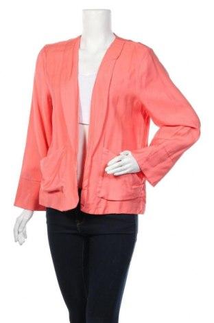 Дамско сако Jeans West, Размер XL, Цвят Розов, 82% вискоза, 18% полиамид, Цена 6,52лв.
