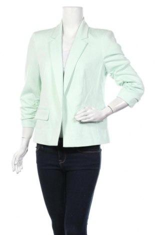 Дамско сако Miss Selfridge, Размер L, Цвят Зелен, 76% полиестер, 20% вискоза, 4% еластан, Цена 59,25лв.