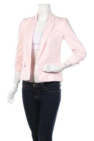 Дамско сако Miss Selfridge, Размер XS, Цвят Розов, 76% полиестер, 20% вискоза, 4% еластан, Цена 57,00лв.