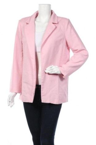 Дамско сако Missguided, Размер M, Цвят Розов, 90% полиестер, 10% еластан, Цена 54,00лв.