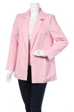 Дамско сако Missguided, Размер M, Цвят Розов, 90% полиестер, 10% еластан, Цена 57,00лв.