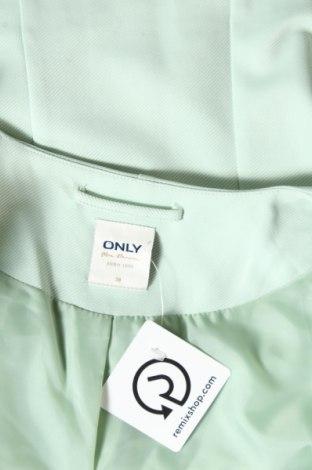 Дамско сако ONLY, Размер M, Цвят Зелен, 95% полиестер, 5% еластан, Цена 23,56лв.