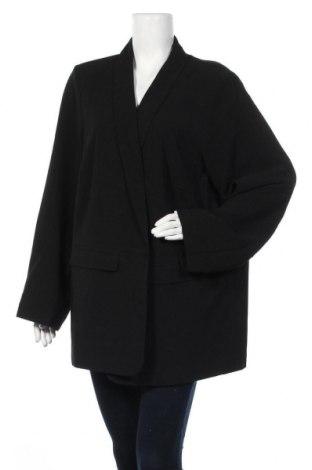 Дамско сако Only Carmakoma, Размер XXL, Цвят Черен, 97% полиестер, 3% еластан, Цена 66,75лв.