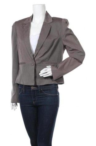 Дамско сако Portmans, Размер XL, Цвят Сив, 71% полиестер, 25% вискоза, 4% еластан, Цена 5,25лв.